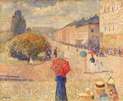"""""""Primavera em Karl Johan"""", 1891"""