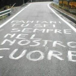 """Homenagem no circuito do Giro d'Italia: """"Pantani, você sempre estará em nossos corações"""""""