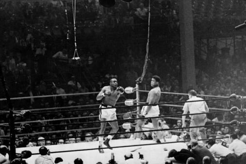 Clay vs. Liston, em 25 de fevereiro de 1964