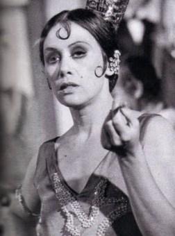 No papel de Zarolha, em Gabriela (1975)