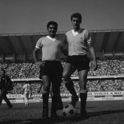 """Na Celeste, ao lado de """"El Verdugo"""" Pedro Rocha"""