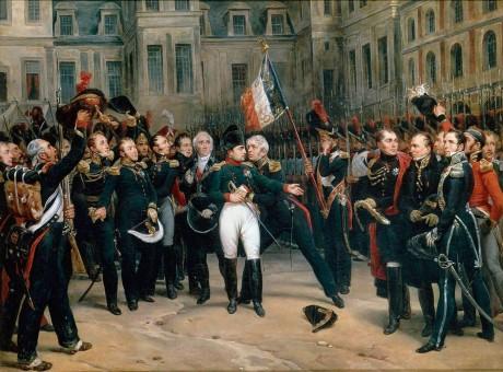 Napoleão Bonaparte é exilado na Ilha de Elba