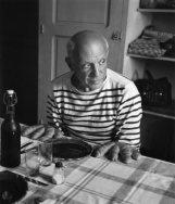 O pintor Pablo Picasso (1952)