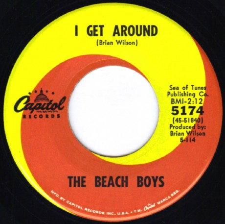 "Beach Boys gravam ""I Get Around"""