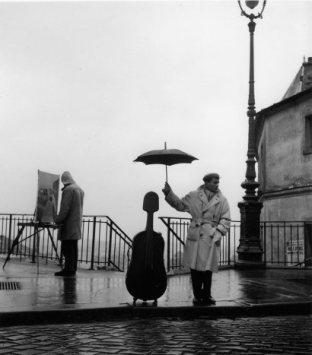 O músico Maurice Baquet (1957)
