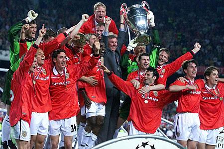 Manchester United conquista a Liga dos Campeões