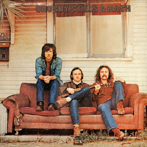 Crosby, Stills & Nash lançam o primeiro álbum