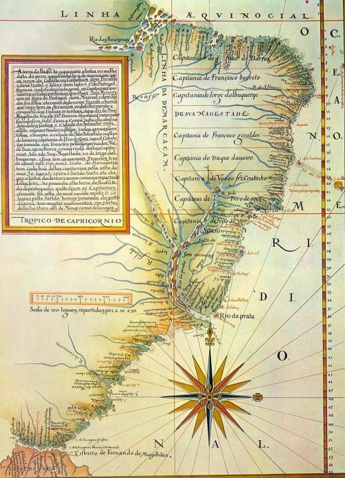 Portugal e Espanha assinam o Tratado de Tordesilhas