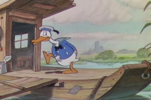 Pato Donald aparece pela primeira vez em desenho