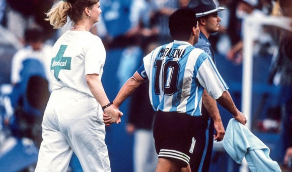 O último tango de Maradona