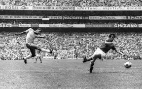 Carlos Alberto Torres faz o quarto na final de 1970