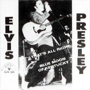Elvis Presley lança o primeiro single