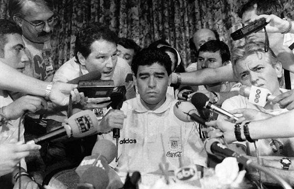 O fim de um gênio chamado Maradona