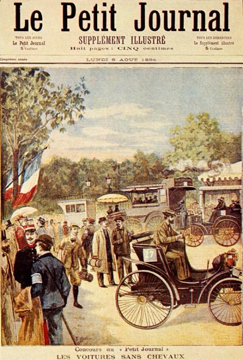 Primeira corrida de automóveis da História acontece na França