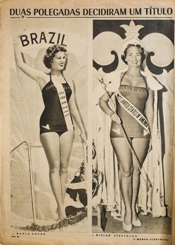 """""""Por duas polegadas"""", Martha Rocha perde o Miss Universo"""