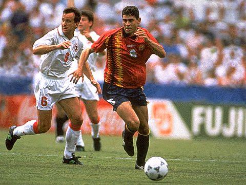 Espanha despacha a Suíça em Washington