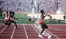 Vitória épica nos 100 m