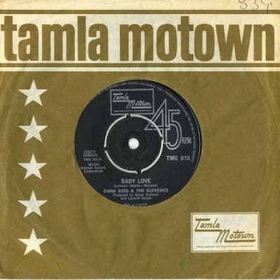 "The Supremes gravam ""Baby Love"""