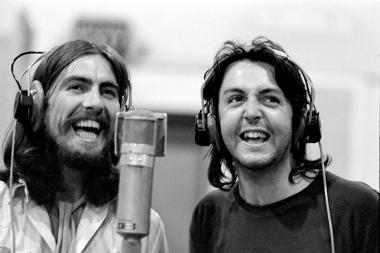 A última sessão de gravação dos Beatles