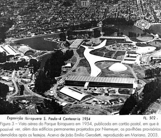 Parque do Ibirapuera é inaugurado em São Paulo