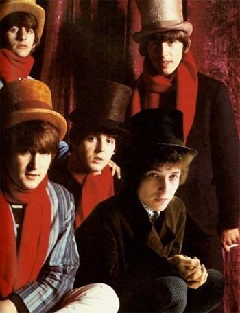 Beatles conhecem Bob Dylan... e a maconha!