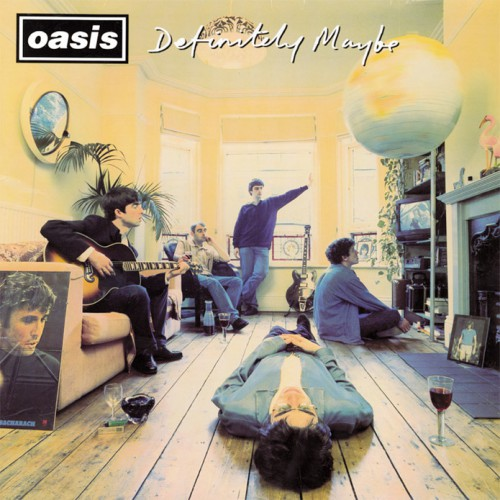 Oasis lança Definitely Maybe, o primeiro álbum