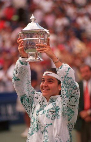 Arantxa Sánchez conquista o US Open pela primeira e única vez