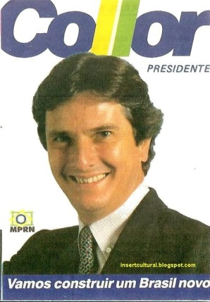 Image result for fernando collor candidato 1989