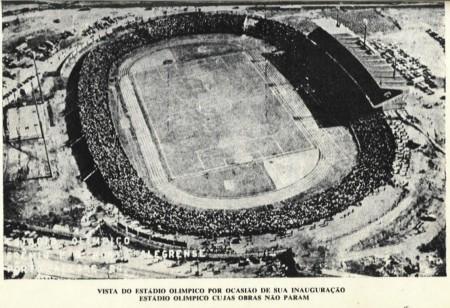 Estádio Olímpico é inaugurado em Porto Alegre