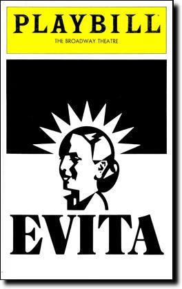 "Musical ""Evita"" estreia na Broadway"
