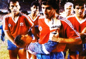 Chilenos deixam o jogo