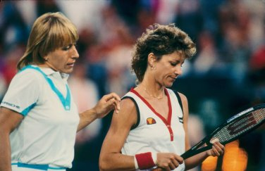 Martina Navratilova e Chris Evert