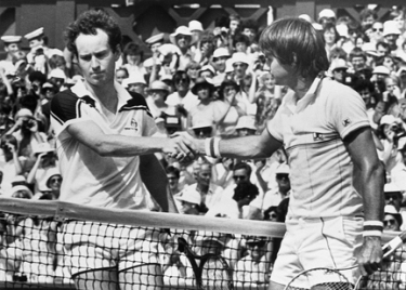 John McEnroe e Jimmy Connors
