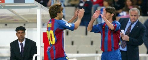 Messi estreia no Barcelona