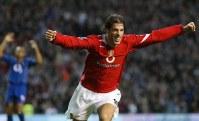 Nistelrooy celebra o primeiro gol