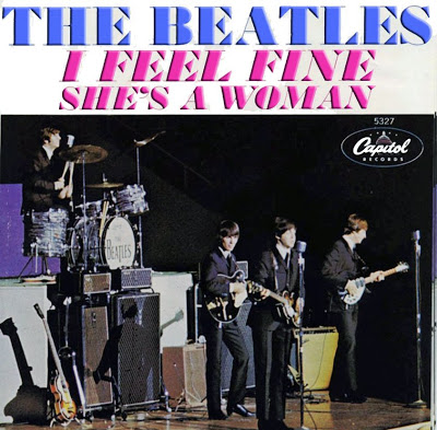 """Beatles lançam single """"I Feel Fine"""" nos EUA"""