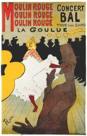 "O famoso pôster de ""La Goulue"" (1891)"
