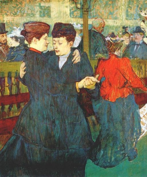 """At the Moulin Rouge: Two Women Waltzing"" (1892)"