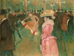 """Dance at the Moulin Rouge"" (1890)"
