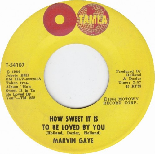 "Marvin Gaye lança ""How Sweet It Is (To Be Loved by You)"""