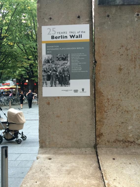 Berlim lembra os 25 anos da queda do muro