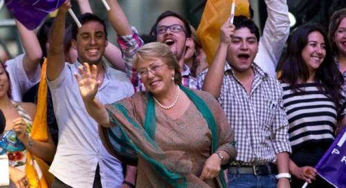Bachelet é eleita presidente do Chile pela 2ª vez