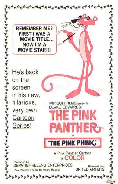 Desenho da Pantera Cor-de-Rosa estreia nos EUA