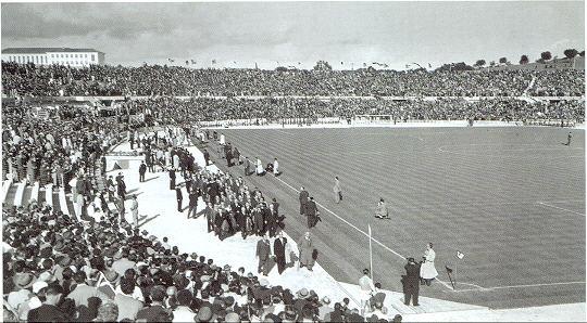 Estádio da Luz é inaugurado em Lisboa