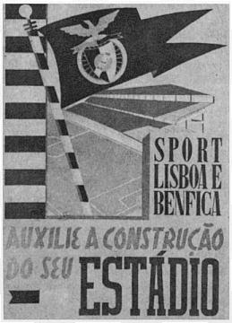 Cartaz da campanha para ajudar na construção da Luz