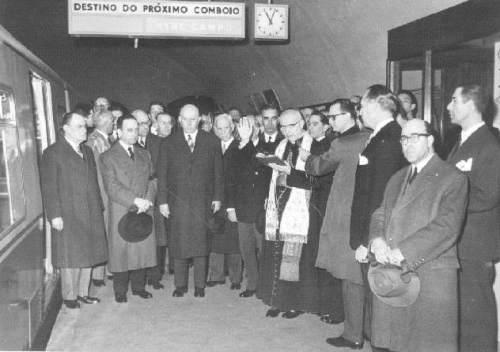 Metrô de Lisboa é inaugurado