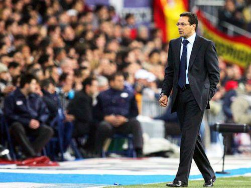 Vanderlei Luxemburgo chega ao Real Madrid