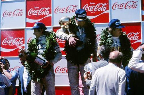 Na estreia de Prost, Piquet sobe ao pódio pela 1ª vez na F1