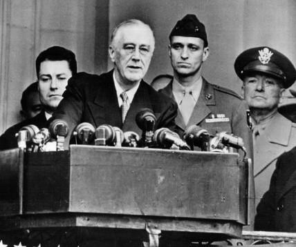 Franklin Roosevelt toma posse em inédito 4º mandato