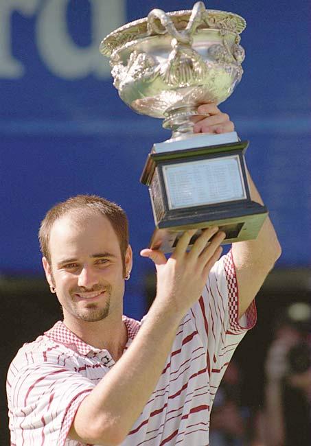Agassi vence Sampras e leva seu 1º Australian Open